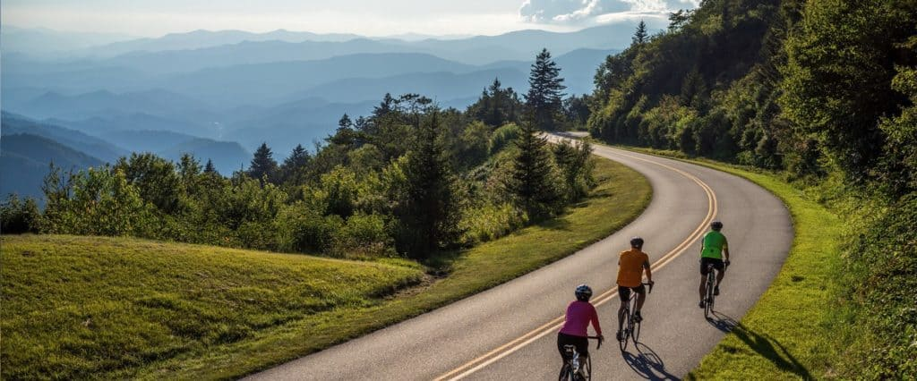 Cycling and Bicycle Riding in Haywood County