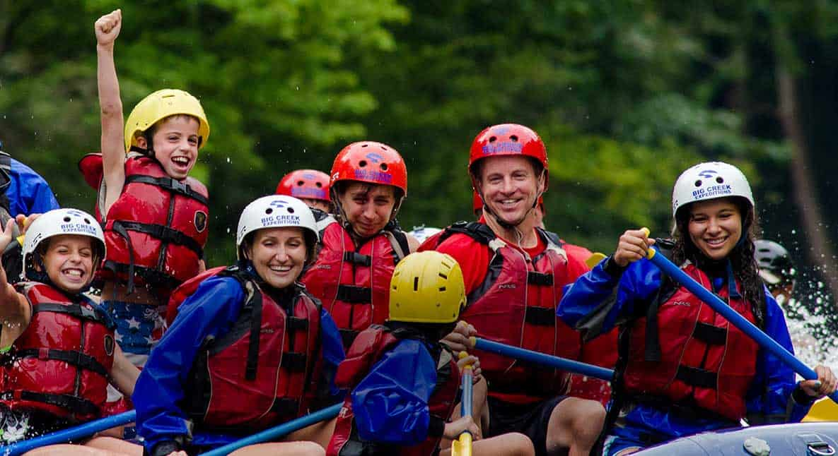 big creek rafting