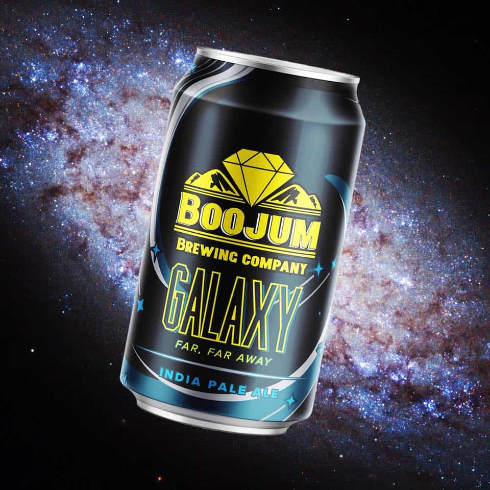 Boojum Brewing Galaxy Can