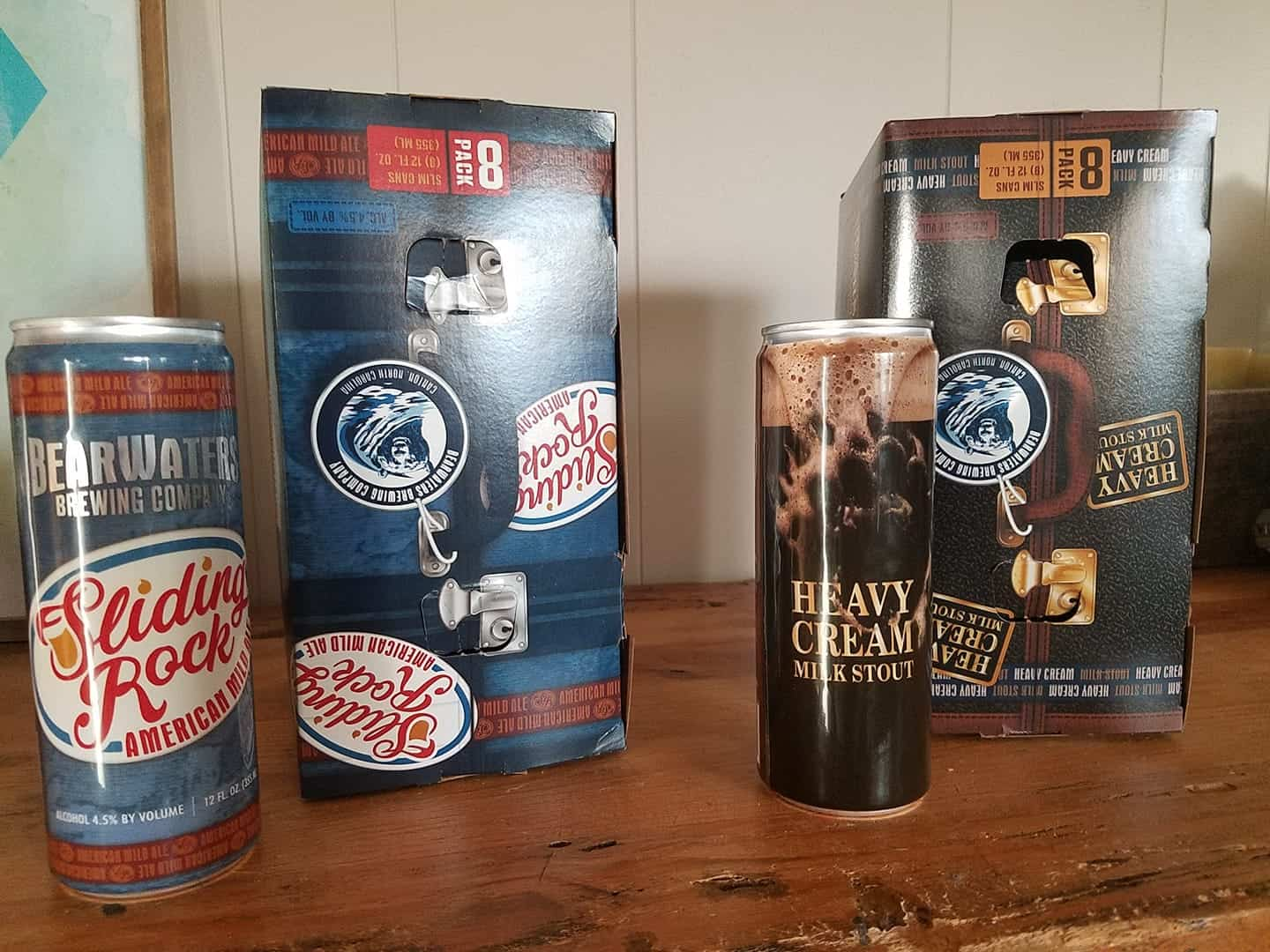 BearWaters Skinny Cans