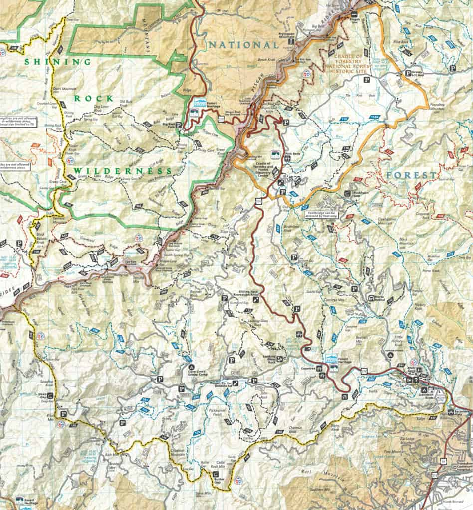 Art Loeb Trail Map | Visit NC Smokies