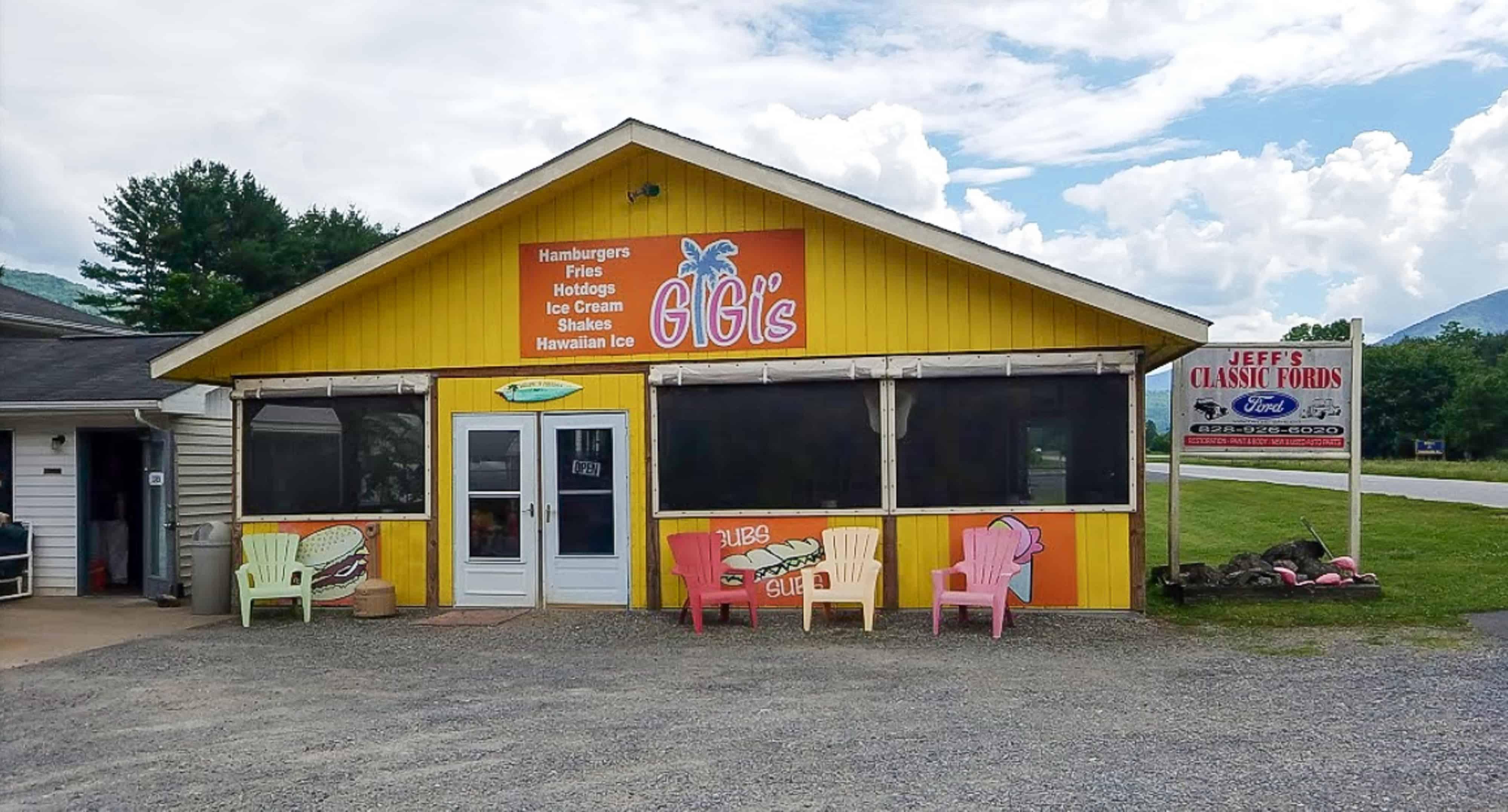 Gigi's in Waynesville