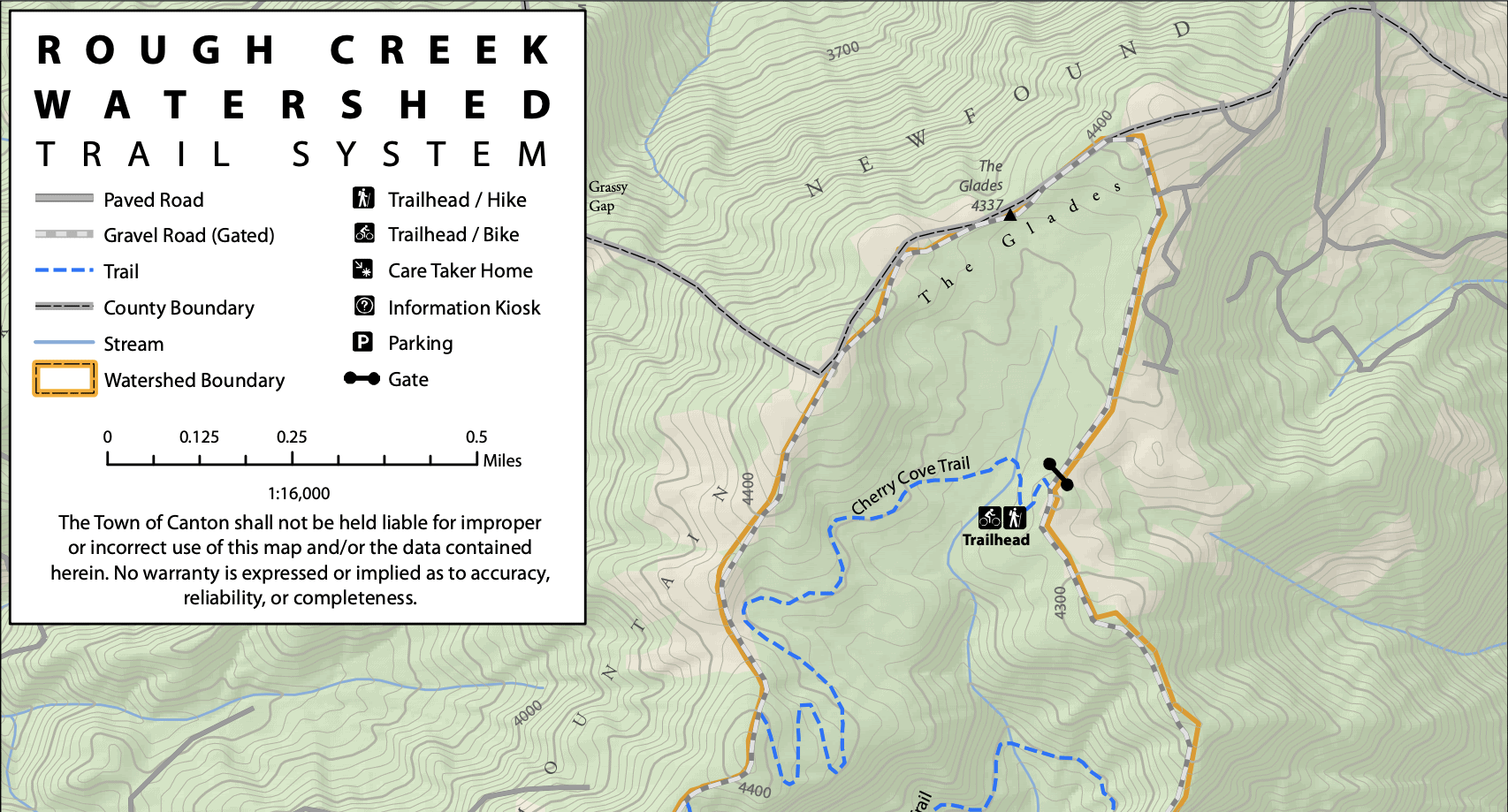 Rough Creek Watershed Trails | Canton, NC | Visit NC Smokies