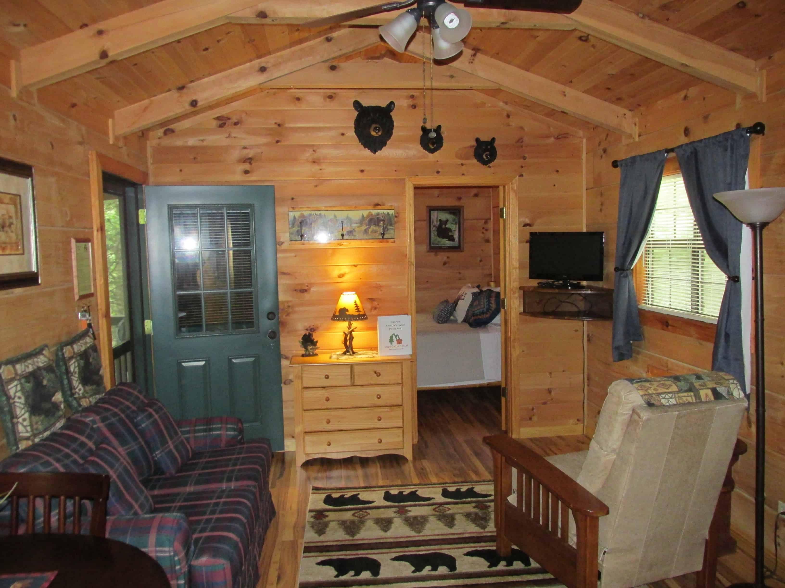 Cozy Cabin Rental Visit NC Smokies