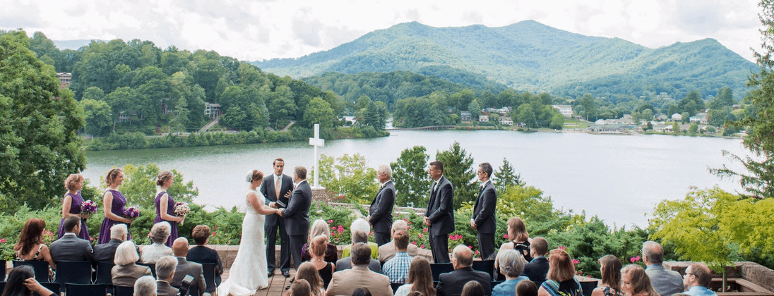 Lake Junaluska Wedding