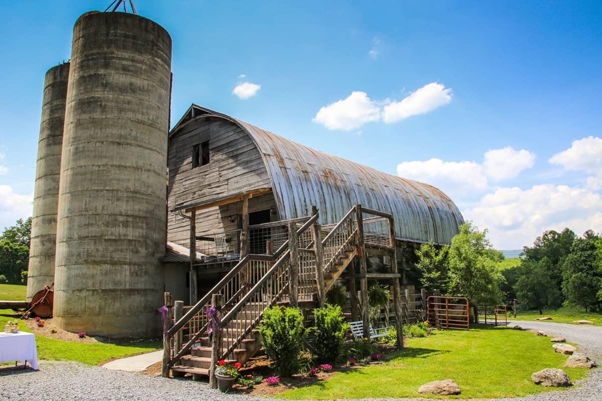Appalachian Farm Wedding Venue