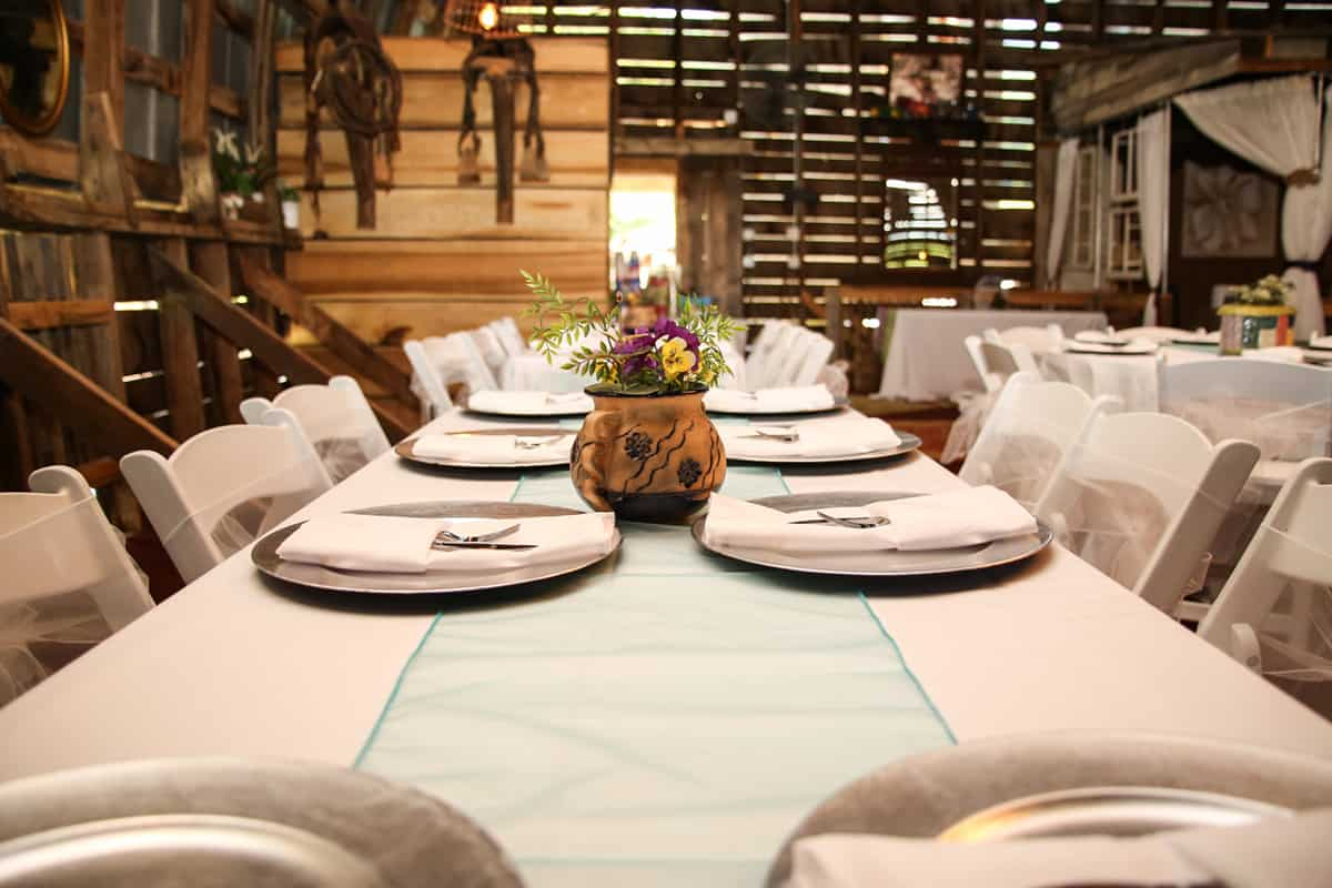 Dinner and decoration details
