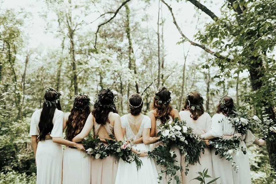 Cabin Among the Oaks Wedding