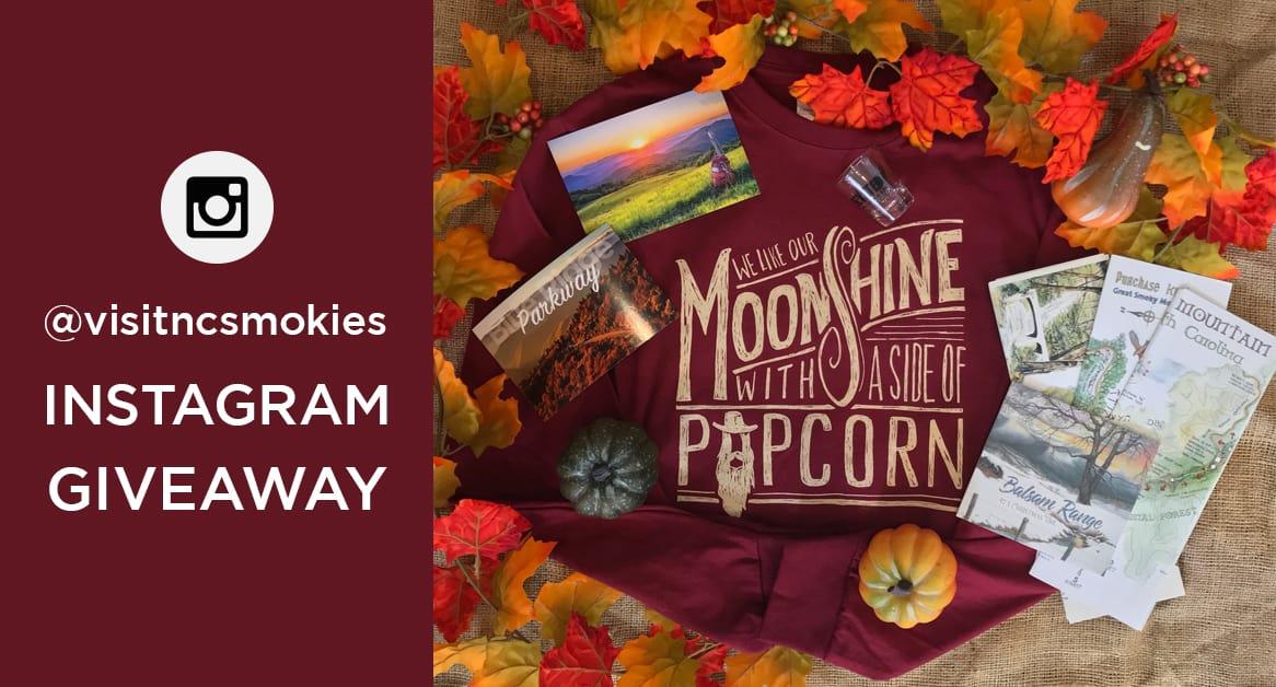 November Instagram Giveaway @visitncsmokies