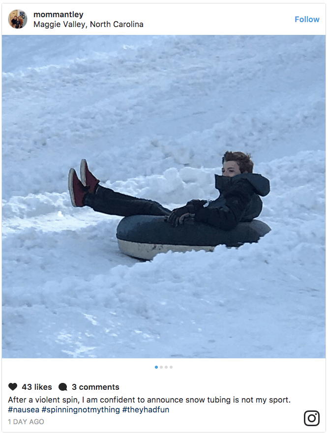 Snow Tubing in Maggie Valley