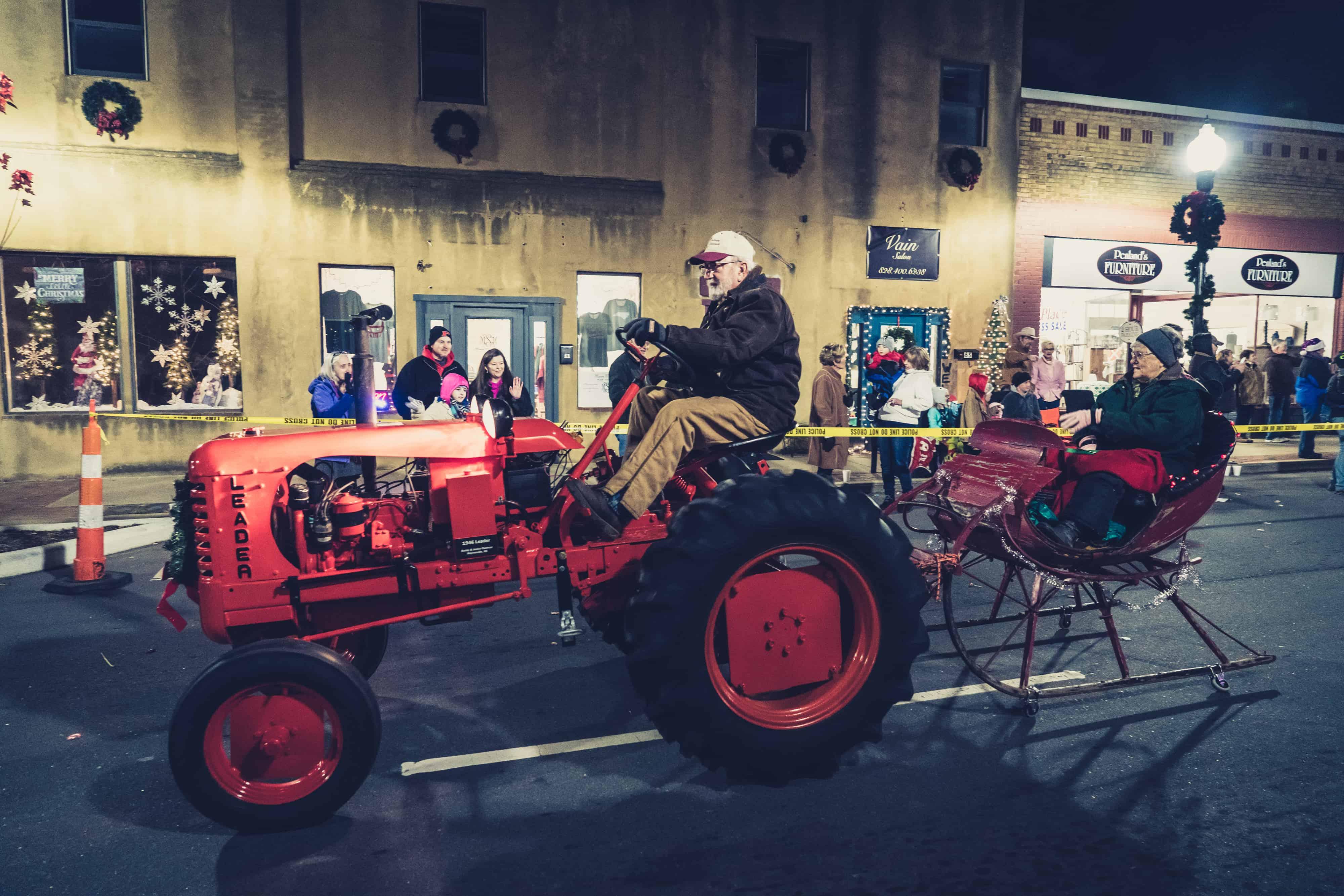 Santas tractor