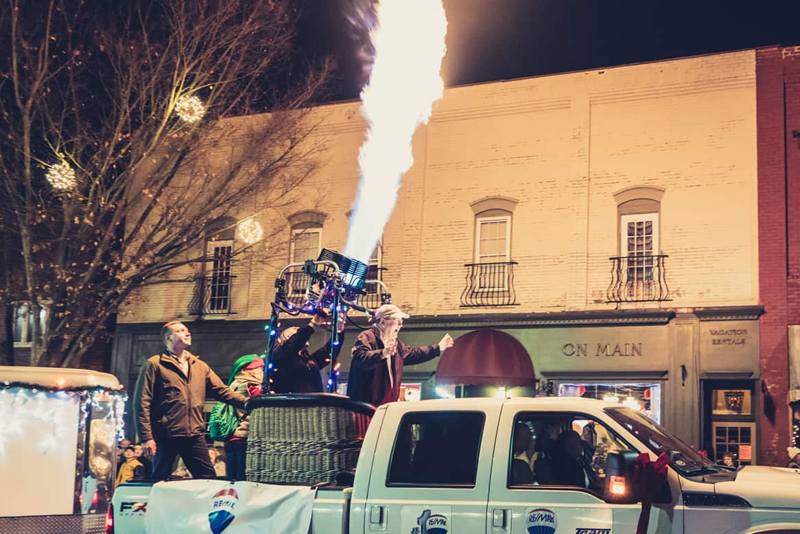 2017 Waynesville NC Christmas Parade