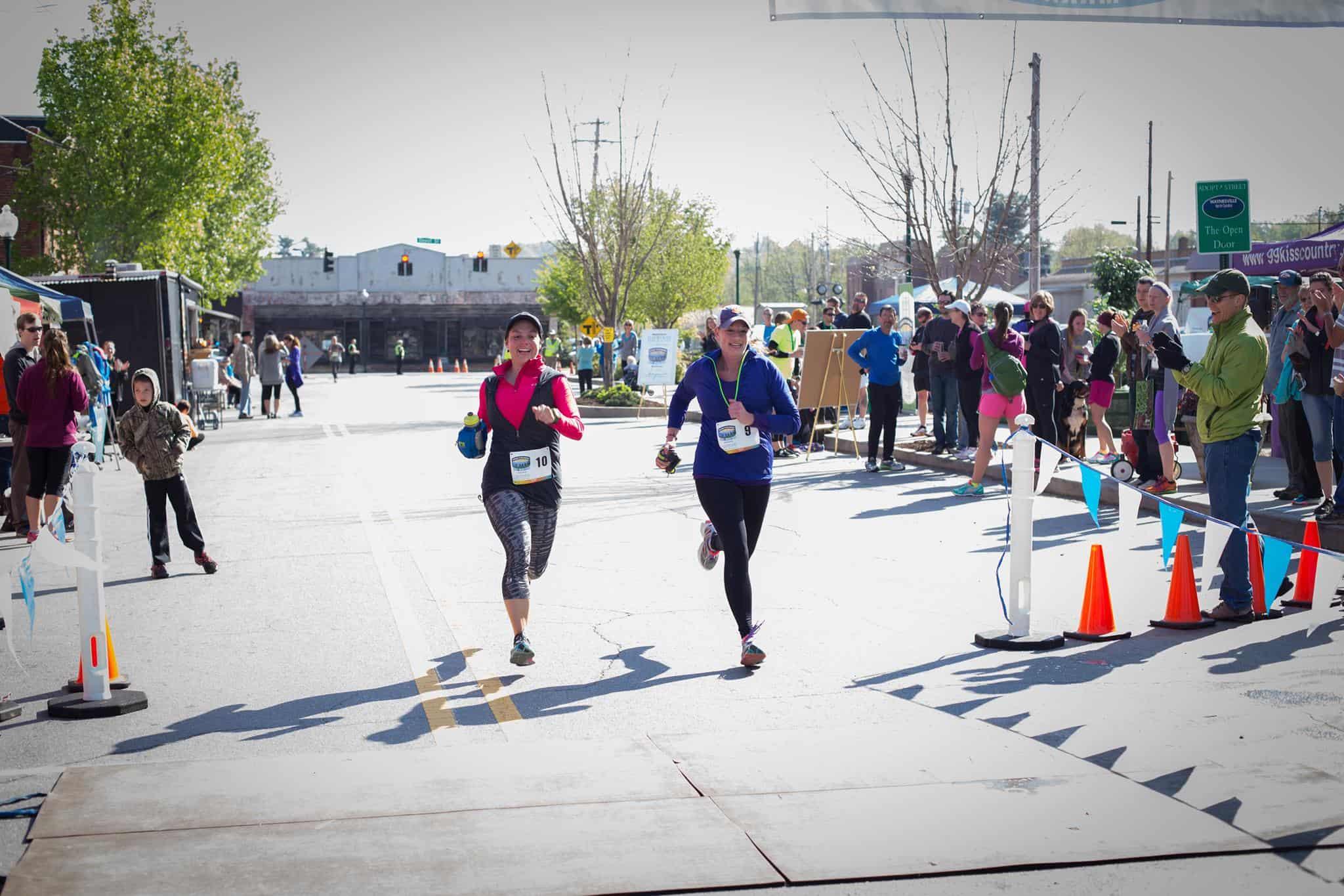 Gateway to the Smokies Half Marathon in Waynesville, NC