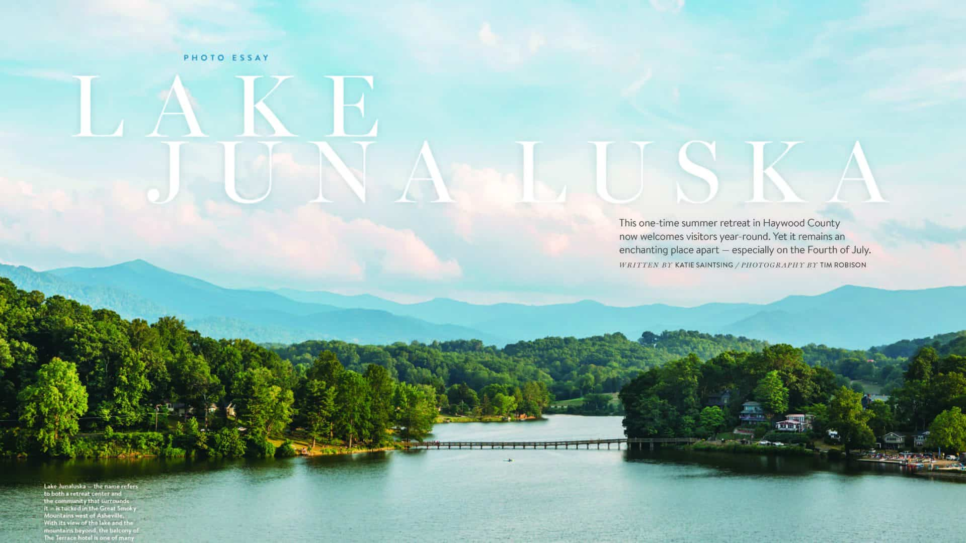 Lake Junaluska featured in Our State Magazine