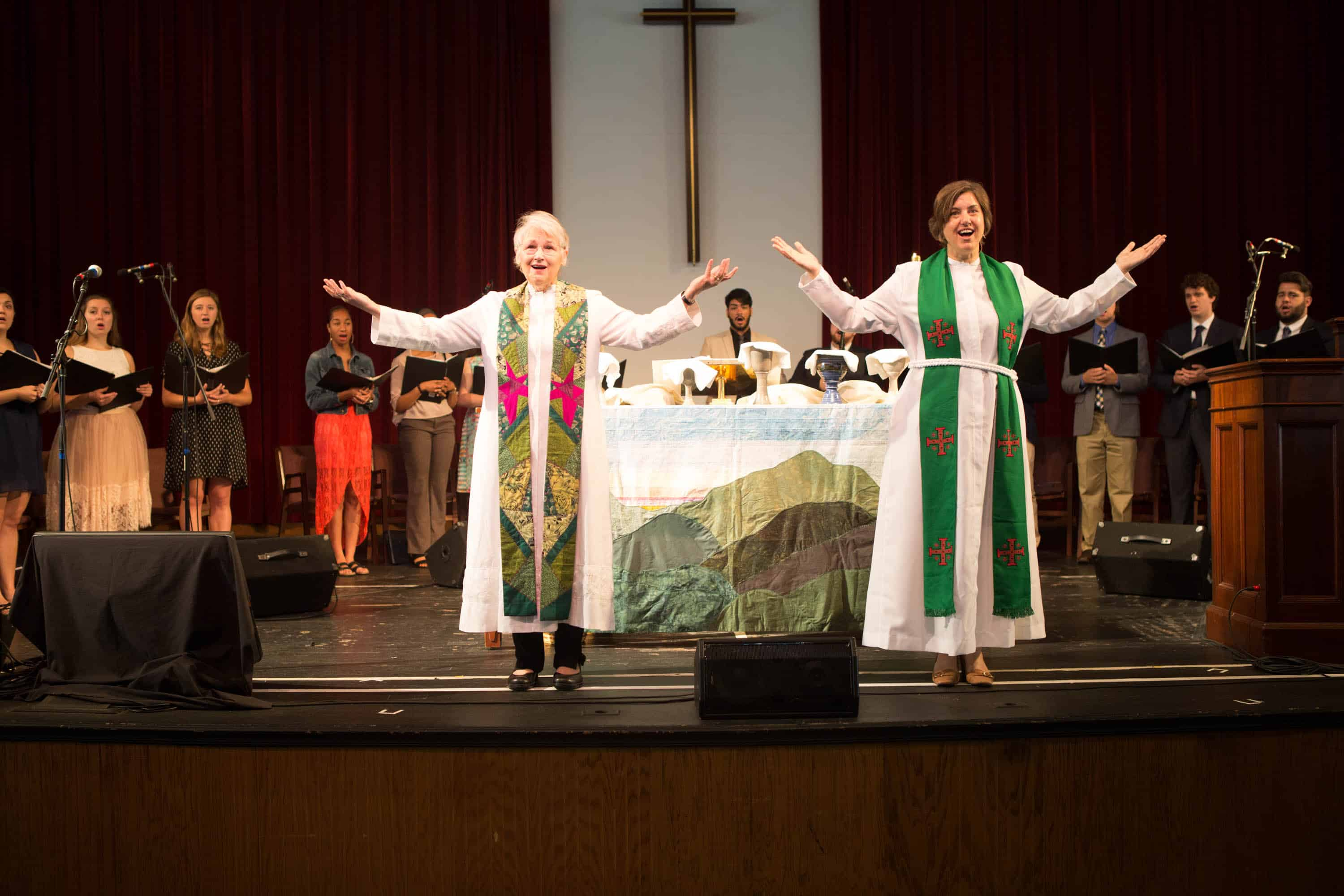 Summer Worship at Lake Junaluska