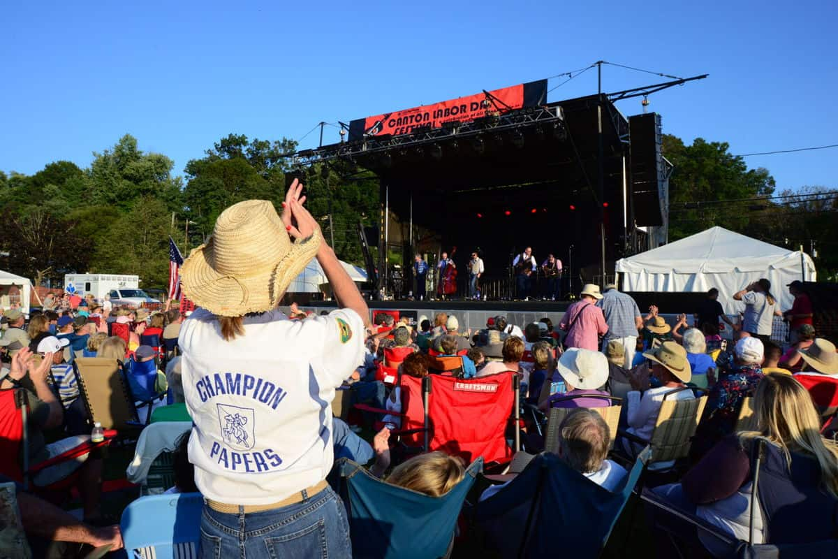 Canton Labor Day Festival in Visit NC Smokies