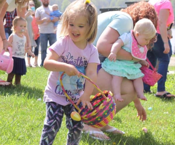 Easter Egg hunt at Lake Junaluska