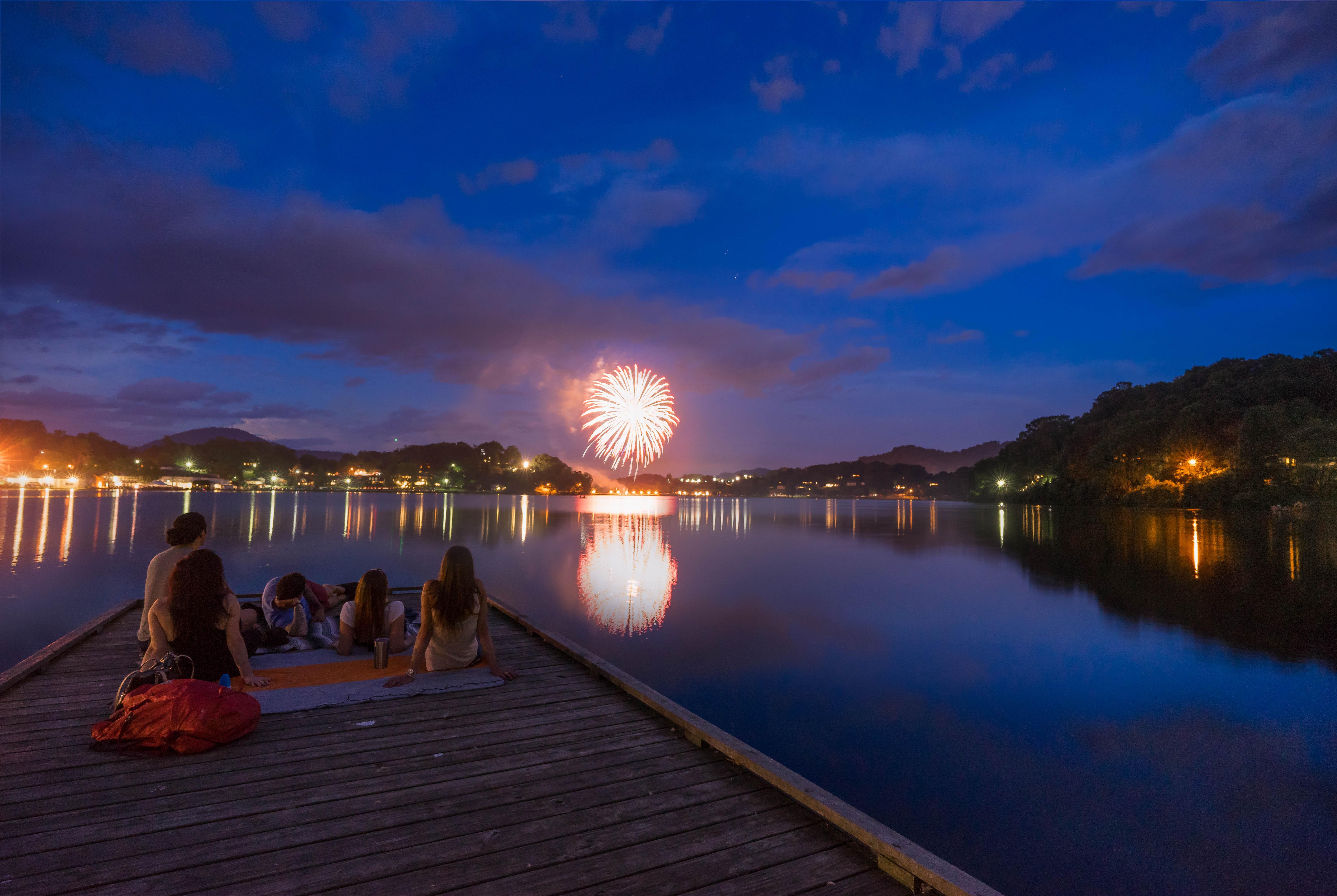 July 4th at Lake Junaluska