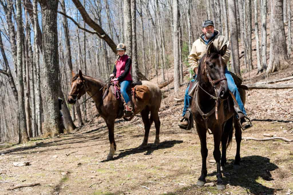 Horseback Riding In The Smoky Mountains Stables Amp Ranches