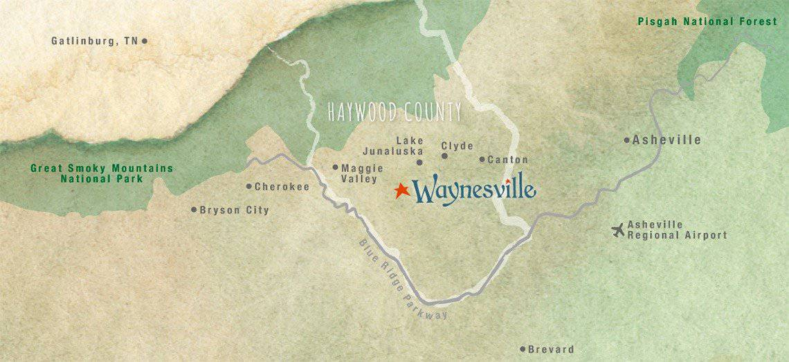 where is waynesville nc