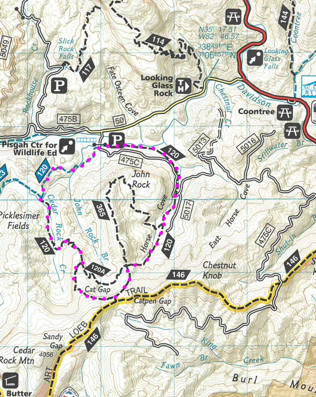 Cat Gap Loop Trail