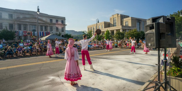 folkmoot festival in haywood county