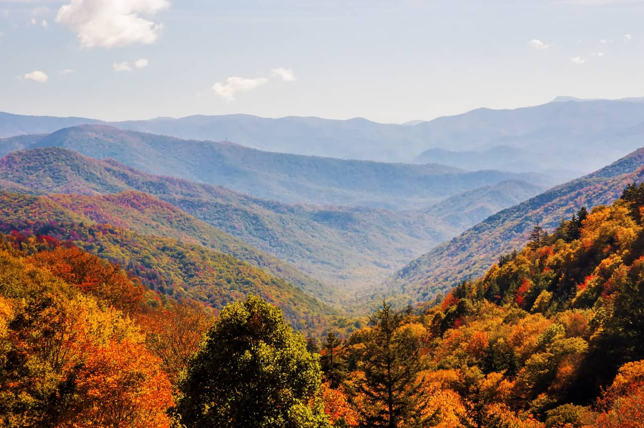 fall in maggie valley