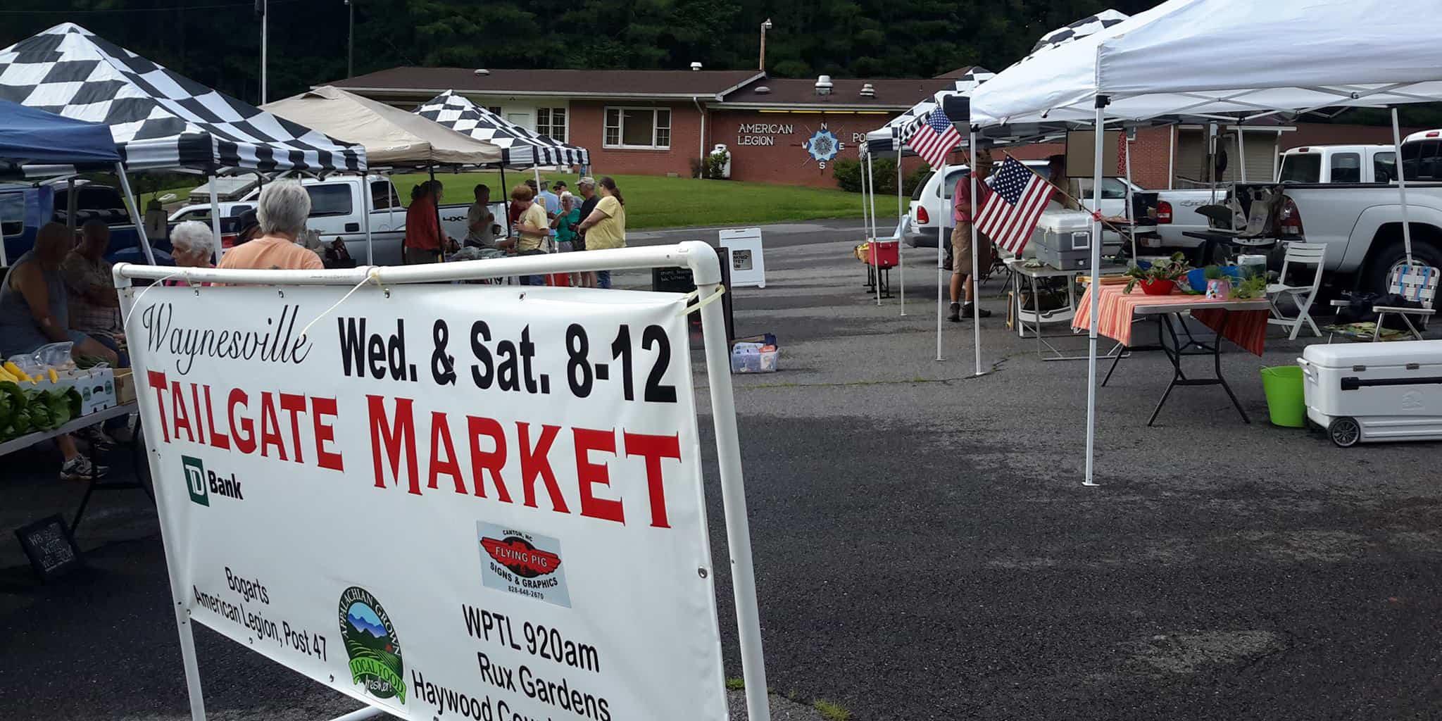 Waynesville Tailgate Market in Haywood County