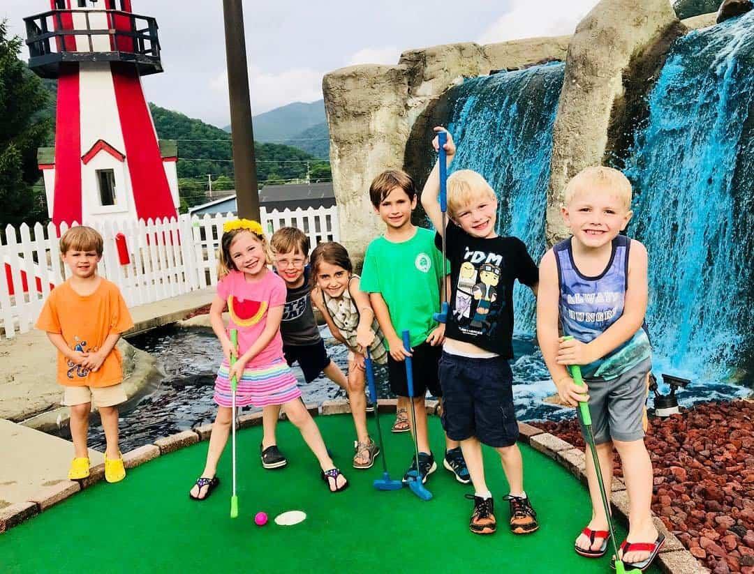 Fantasy Golf in Maggie Valley, NC