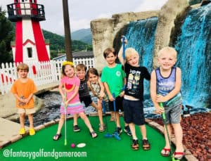 Fantasy Golf and Game Room in Maggie Valley, NC