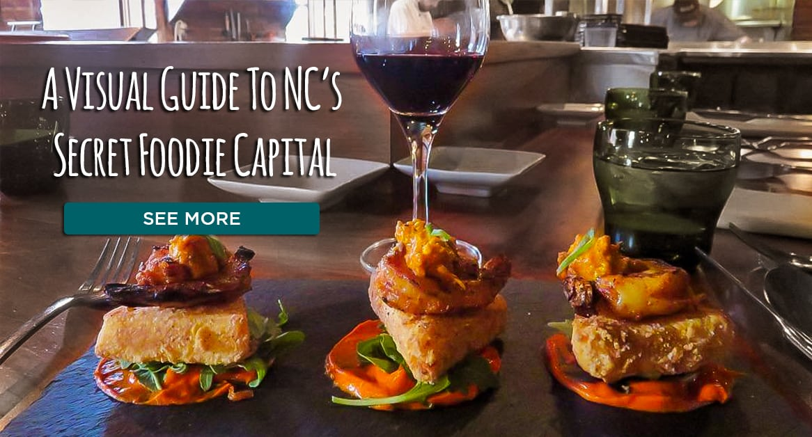 A Visual Guide to NC's Secret Foodie Capital
