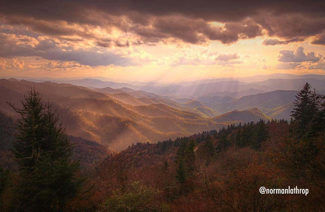 Haywood County Fall Mountains