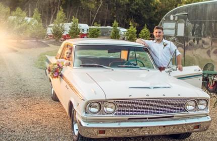 wedding photographer in clyde