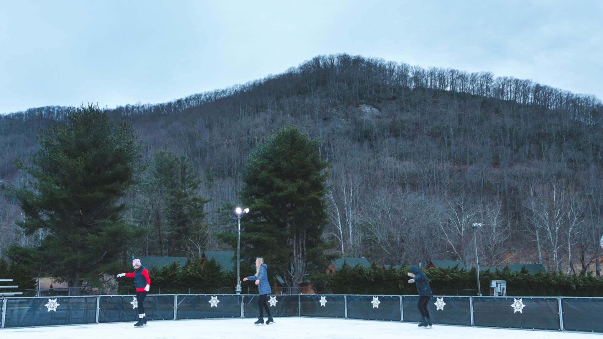 Maggie Valley Ice Skating Rink