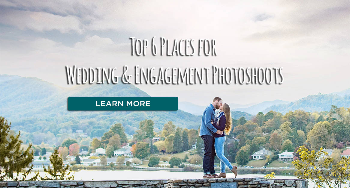 Top 6 Places for Wedding or Engagement Photoshoots