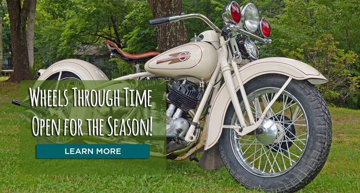 Wheels Through Time Open for the 2019 Season | Visit NC Smokies
