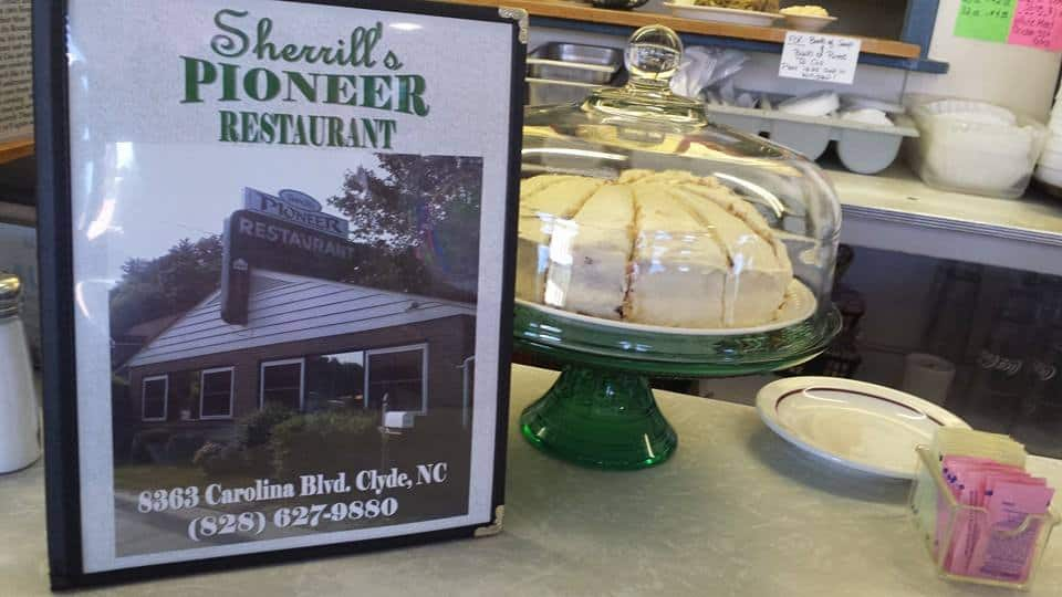 Sherrill's Pioneer Restaurant in Clyde, NC.