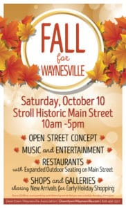 Fall for Waynesville Event