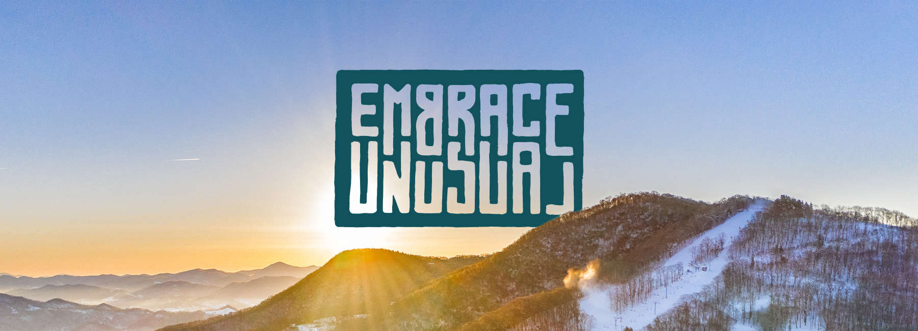 Embrace Unusual - Image of the Smoky Mountains in Winter