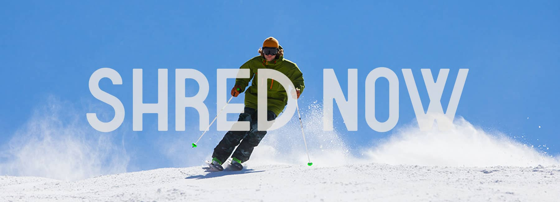 Shred Now Image of Snowboarder